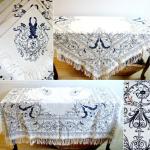 antique table linen