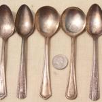 clean antique silver